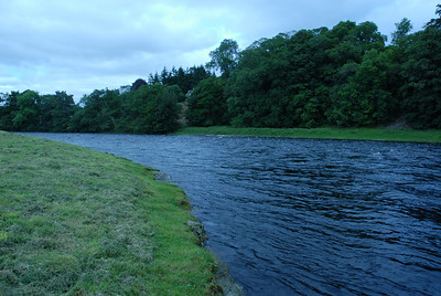 River Dee, high water, August 2007