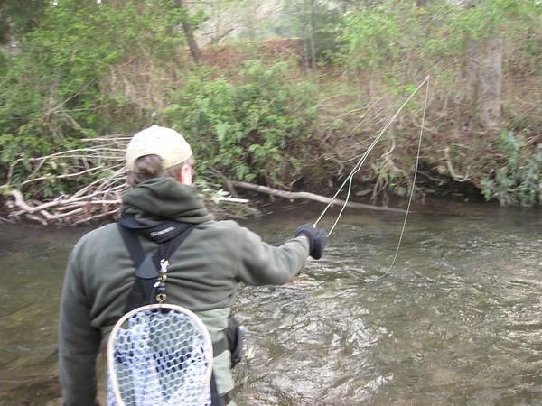 Dukes Creek April 7, 2013