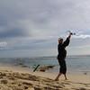 Steve Correia at a secret beach north of Perth.