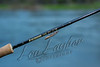 Fly fishing, live salmon fly on a fly rod