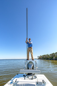 Poling The Flats with Michael from Hell's Bay