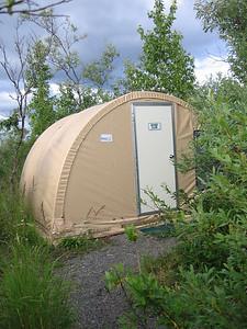 Alaska West camp tent