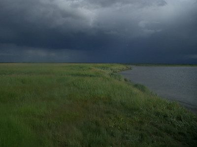 Weather over the Arolik River