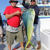 John McCarthy with a nice Dorado and the first fish of the trip.