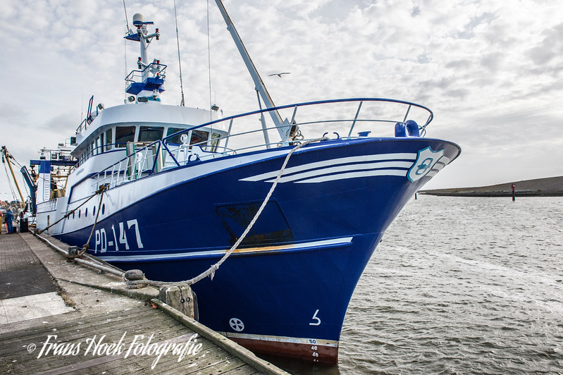 Fishing ship PD-147 / Vissersschip PD-147