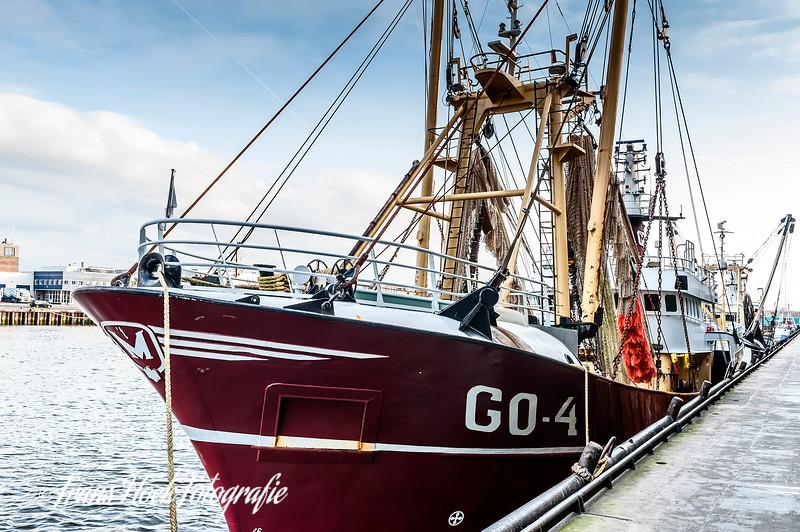 Beam trawler / Boomkorkotter Goedereede 4