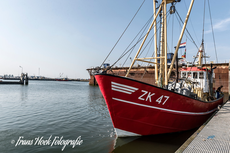 ZK-47 at daylight / ZK47 overdag in de haven.