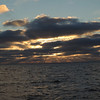 Sunset on Day 1.
