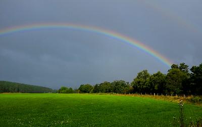 Ballogie rainbow.