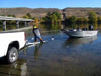 Steelheading on the Okanogan Oct 09