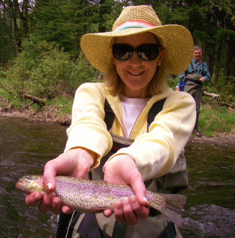 New breed chicks rule fly fishing the Trophy Stretch.