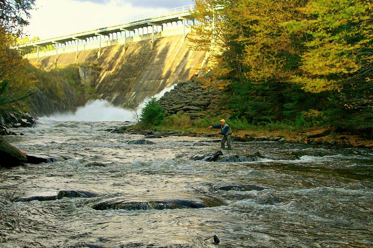 """Fly fishing the """"Trophy Stretch"""""""