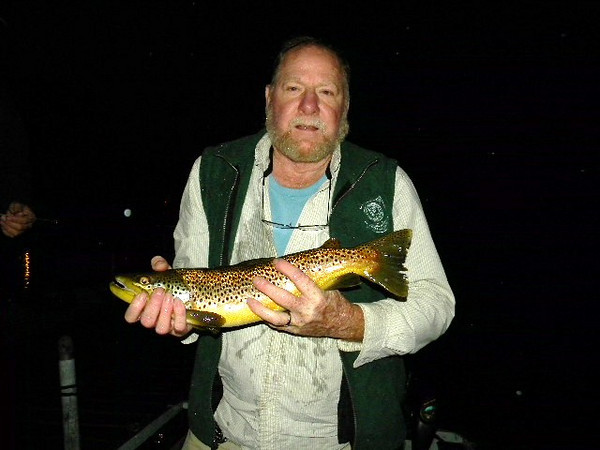 Red Merker's 4 lb Brown 6/29/10
