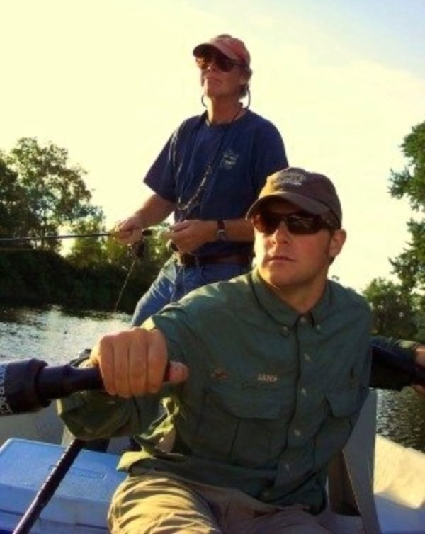 Guide's Day Off! Jon & Eric drifting the Ct. River