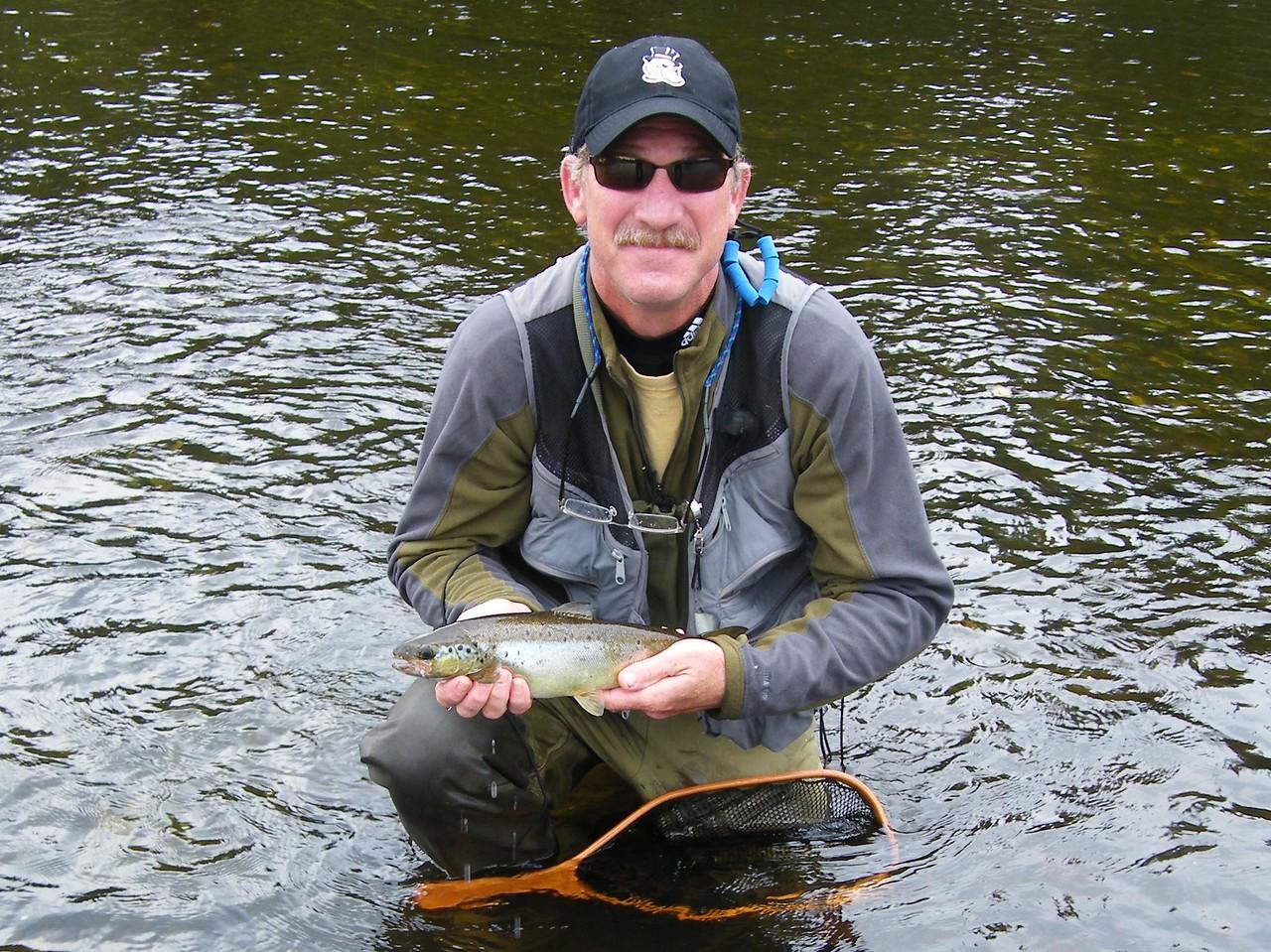 Rich's fall landlocked salmon.