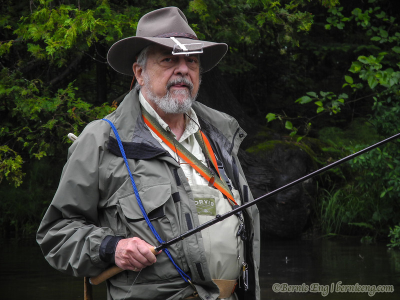 If there was a JC Penney ad for the perfect Tenkara outfit to wear in the rain, this is what you would see.