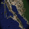 Baja Map arrow X Home