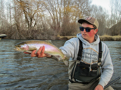 """19"""" Rainbow caught at the end of the day."""
