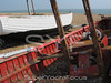 Fishing boat,Aldeburgh beach,Suffolk,England