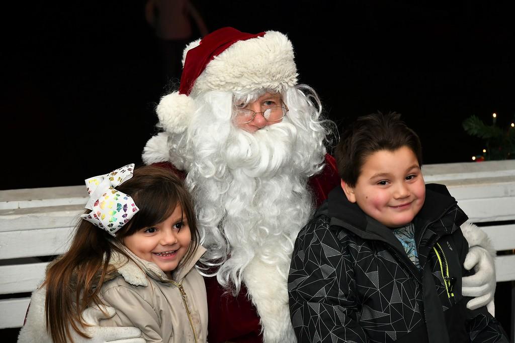 . Meeting Santa Claus Sentinel & Enterprise / Jim Fay