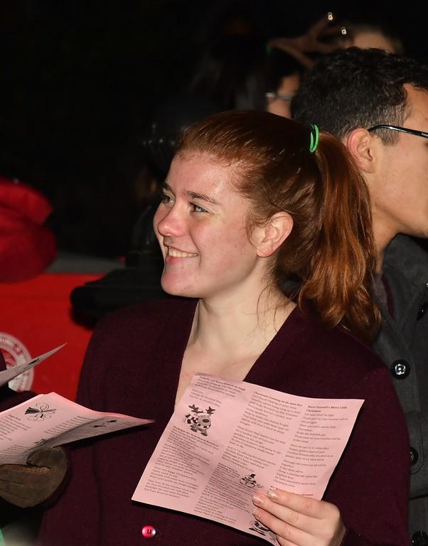 . Fitchburg HS Choir Member. Sentinel & Enterprise / Jim Fay