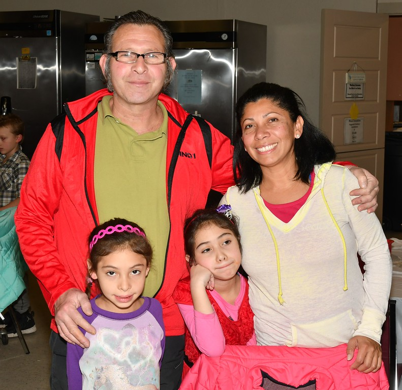 . Stephen, Stephania, Victoria and Senovia Sandrelli of Fitchburg. Sentinel & Enterprise / Jim Fay