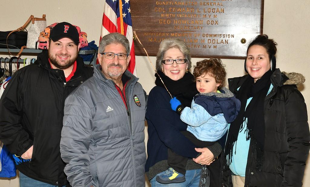 . The DiNatale\'s - City Councelor, Marcus, Mayor Stephen, Joanne, John and Sara