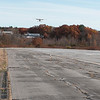 A plane lands at the Fitchburg Airport on Thursday afternoon. SENTINEL& ENTERPRISE/JOHN LOVE