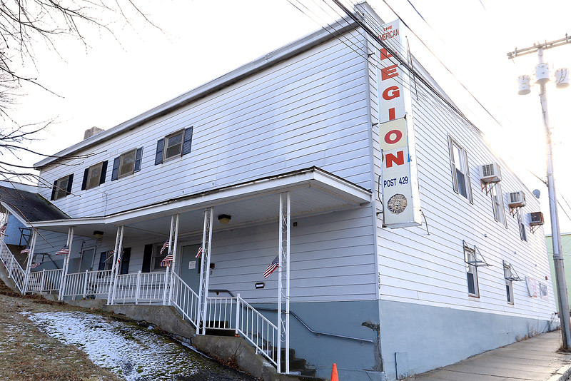 The Fitchburg American Legion on Daniels Street on January 3, 2019. SENTINEL & ENTERPRISE/JOHN LOVE