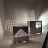 Otto Piene's original Light Robot pieces on display at the Fitchburg Art Museum on Sunday.<br /> SENTINEL & ENTERPRISE / Nick Mallard