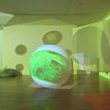 "Otto Piene's ""Proliferation of the Sun"" on display at the Fitchburg Art Museum on Sunday.<br /> SENTINEL & ENTERPRISE / Nick Mallard"
