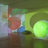 "Otto Piene's ""Proliferation of the Sun"" on display at the Fitchburg Art Museum on Sunday.<br /> SENTINEL & ENTERPRISE / Nick Mallard"