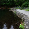 The Mirror Lake Dam at Coggshall Park in Fitchburg. SENTINEL & ENTERPRISE/JOHN LOVE