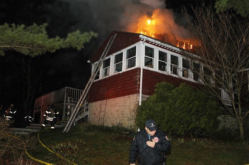 House fire Oak Hill Rd