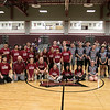 The Fitchburg High School and North Middlesex Regional High School Unified Basketball teams played each other in a game on Wednesday afternoon in the gym at FHS. Both teams with coaches posed for a picture after the game. SENTINEL & ENTERPRISE/JOHN LOVE
