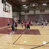 The Fitchburg High School and North Middlesex Regional High School Unified Basketball teams played each other in a game on Wednesday, Oct. 16, 2019, in the gym at FHS. SENTINEL & ENTERPRISE/JOHN LOVE
