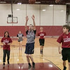 The Fitchburg High School and North Middlesex Regional High School Unified Basketball teams played each other in a game on Wednesday afternoon in the gym at FHS. NM's Curtis Coulter takes a shot during action in the game. SENTINEL & ENTERPRISE/JOHN LOVE
