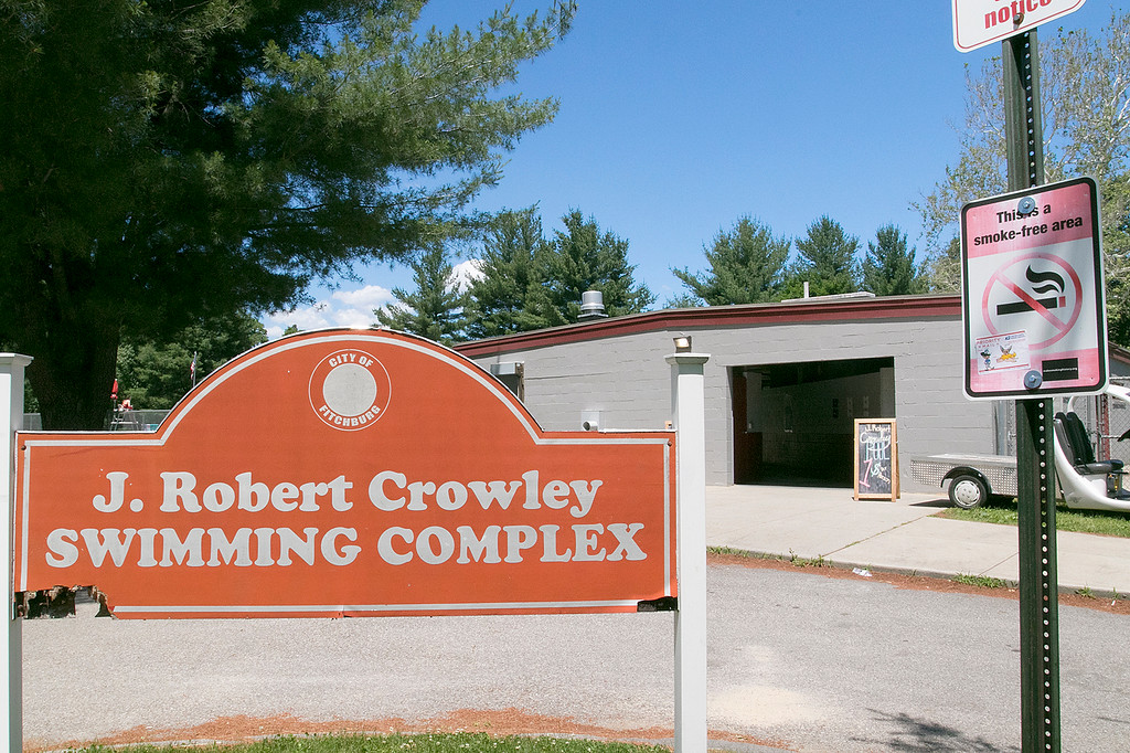 . J. Robert Crowley Swimming Complex at Coolidge Park in Fitchburg is open again for the summer season. SENTINEL & ENTERPRISE/JOHN LOVE