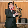 "The talent of jazz virtuoso, Clyde Wheatley from Holden entertained the crowd at the Fitchburg Senior Center's ""Be My Valentine"" on Wednesday morning for some romance, love and all the classics. He played the clarinet, the alto saxophone and the soprano saxophone for the crowd. There was a lunch from The Finicky Fork sponsored by Fitchburg Senior Center after the entertainment. Here Wheatley plays the alto saxophone. SENTINEL & ENTERPRISE/JOHN LOVE"