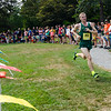 Fitchburg State's Jake Hastings comes in third in the Jim Sheehan Memorial Invite at the Doyle Conservation Center in Leominster on Saturday morning. SENTINEL & ENTERPRISE / Ashley Green