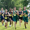 Fitchburg State men compete in the Jim Sheehan Memorial Invite at the Doyle Conservation Center in Leominster on Saturday morning. SENTINEL & ENTERPRISE / Ashley Green