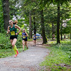 Fitchburg State's Erin Bresnahan competes in the Jim Sheehan Memorial Invite at the Doyle Conservation Center in Leominster on Saturday morning. SENTINEL & ENTERPRISE / Ashley Green
