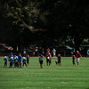 The Fitchburg Youth Football teams faced off against Leominster on Saturday, September 16, 2017 at Crocker Field. SENTINEL & ENTERPRISE / Ashley Green