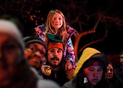 Fitchburg lights up the Upper Common for the holiday season
