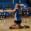 Leominster's Megan Hutchinson in action during the rivalry match against Fitchburg on Friday, October 13, 2017. SENTINEL & ENTERPRISE / Ashley Green