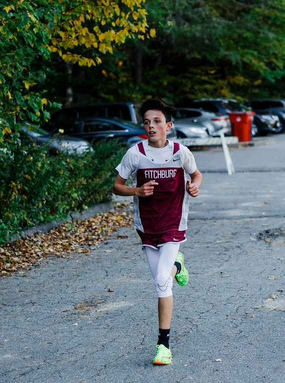. The Fitchburg and Leominster cross country teams compete at Coggshall Park in Fitchburg on Tuesday, October 17, 2017. SENTINEL & ENTERPRISE / Ashley Green