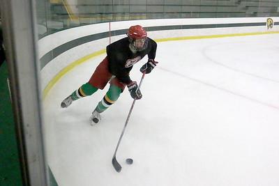 Fitchburg/Monty Tech High School hockey practice
