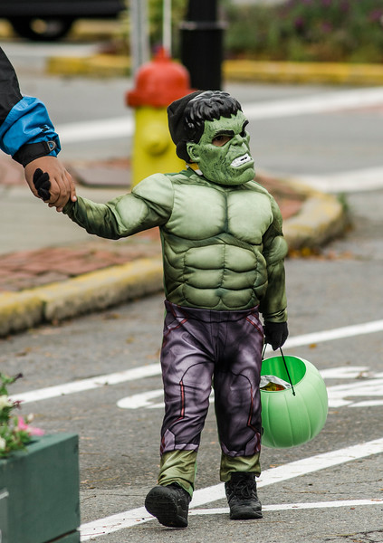 Fitchburg held it's 8th annual trick-or-treatingon Main Street on Saturday afternoon. SENTINEL & ENTERPRISE / Ashley Green
