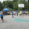 The second annual Sunny Side Foundation's Summer Throwdown three on three basketball tournament was held on Saturday, July 20, 2019 at Lowe Park in Fitchburg. Players used only one basket for each game. SENTINEL & ENTERPRISE/JOHN LOVE