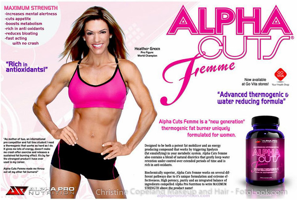 Heather Green for Alpha Cuts